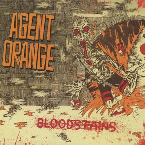 Agent Orange - Bloodstains Orange Vinyl LP