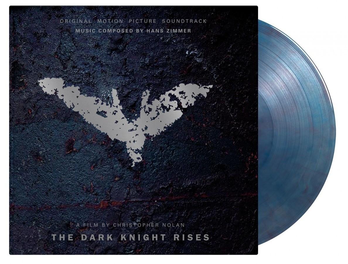 Hans Zimmer - Dark Knight Rises (Blue/Red Marble) Vinyl LP