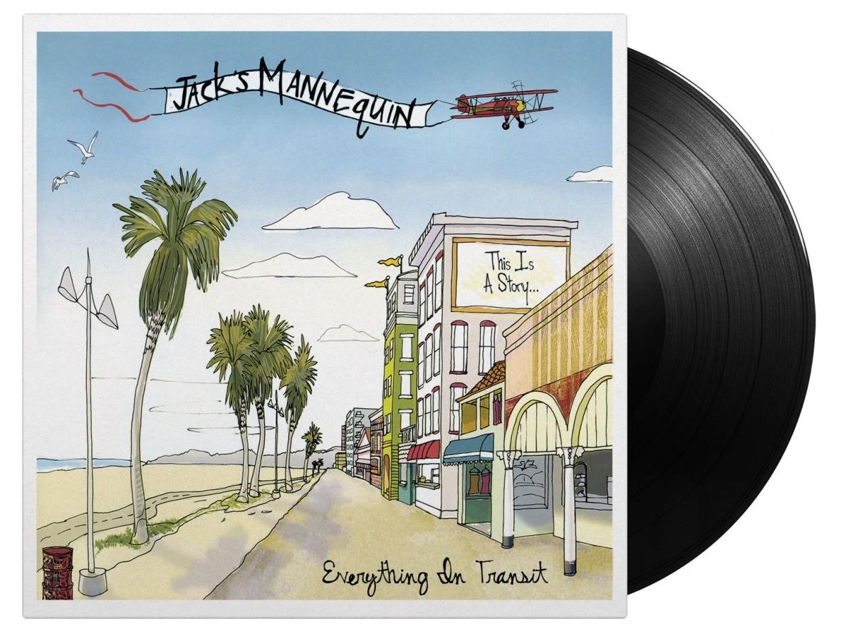 Jack's Mannequin - Everything In Transit (180 Gram Black) Vinyl LP