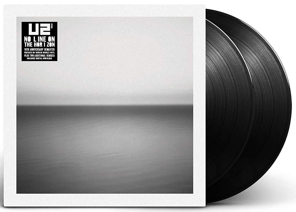 U2 - No Line On The Horizon 2XLP Vinyl