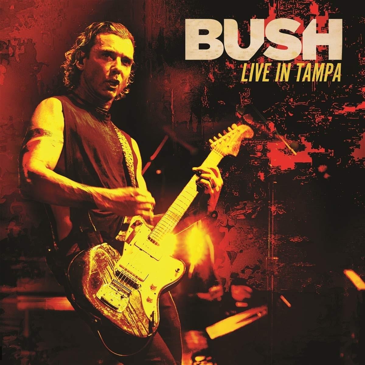 Bush - Live In Tampa (Red) 2XLP Vinyl
