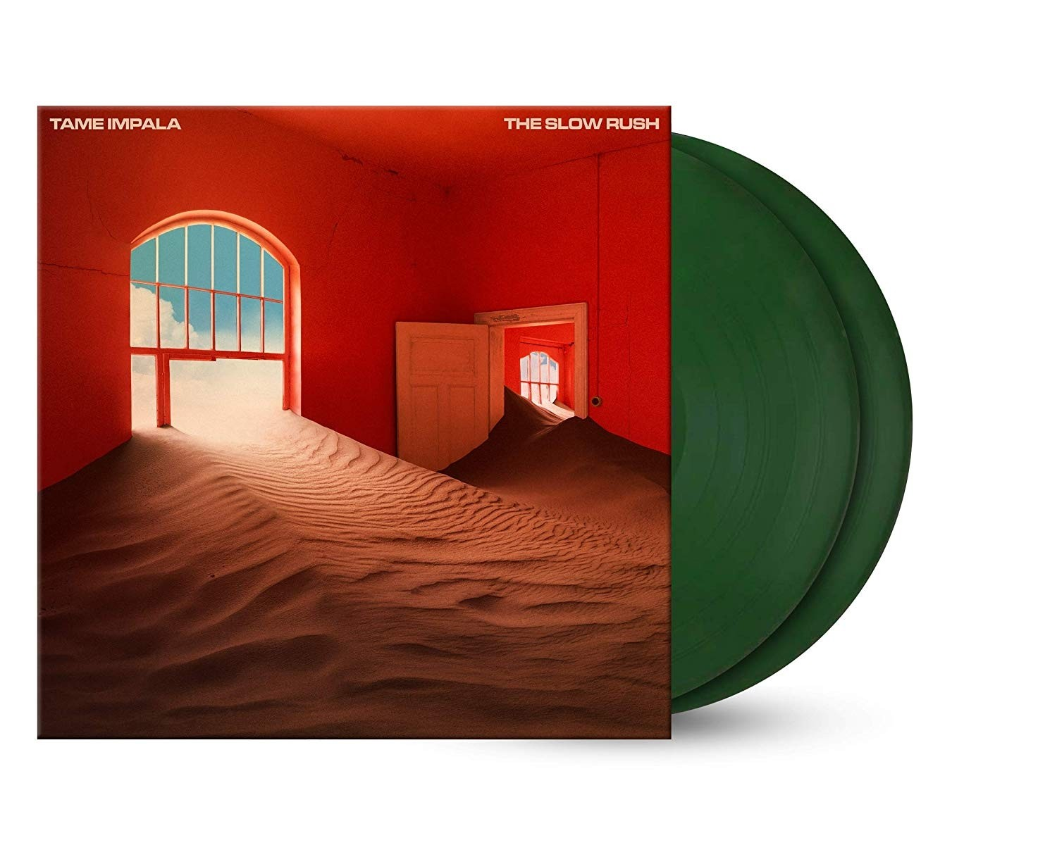 Tame Impala - Slow Rush (Forest Green) 2XLP Vinyl