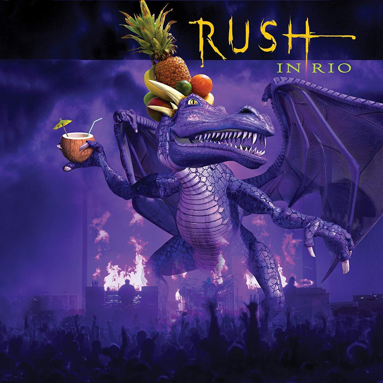 Rush - In Rio 4XLP vinyl