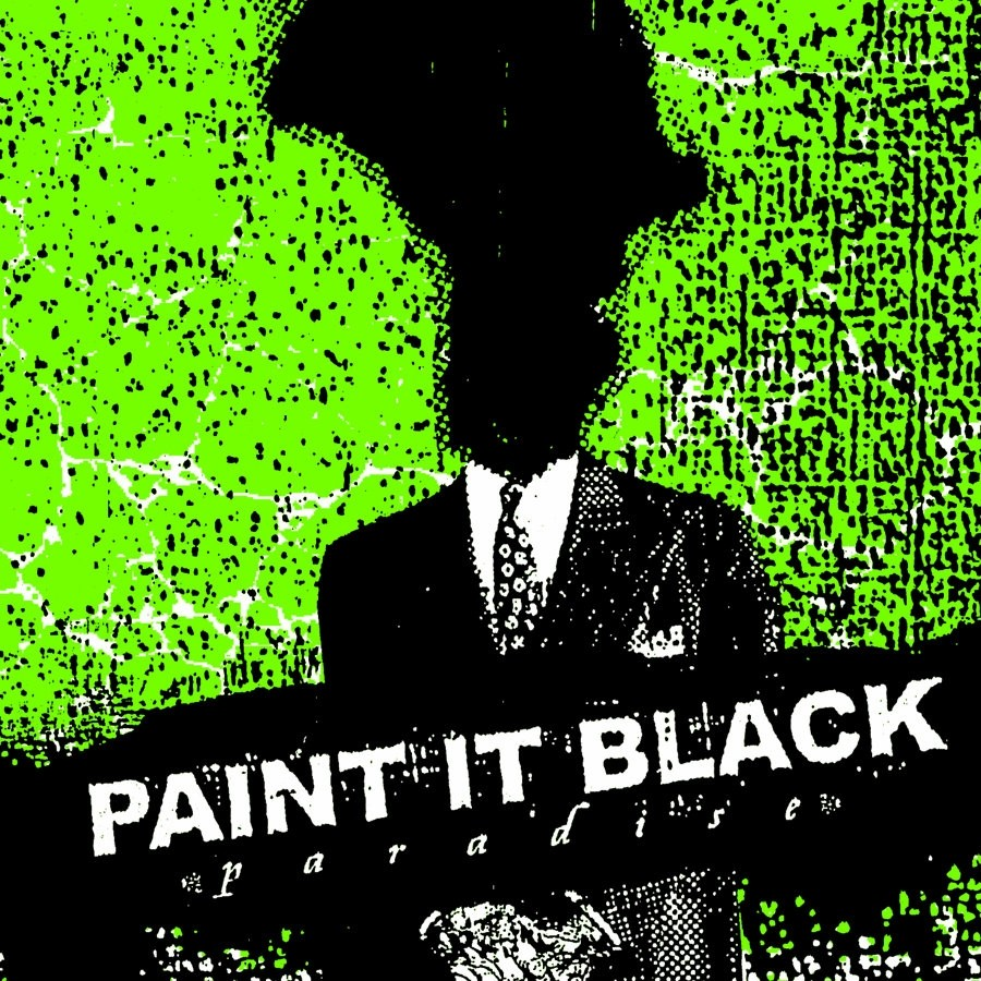 Paint It Black - Paradise (Clear) Vinyl LP