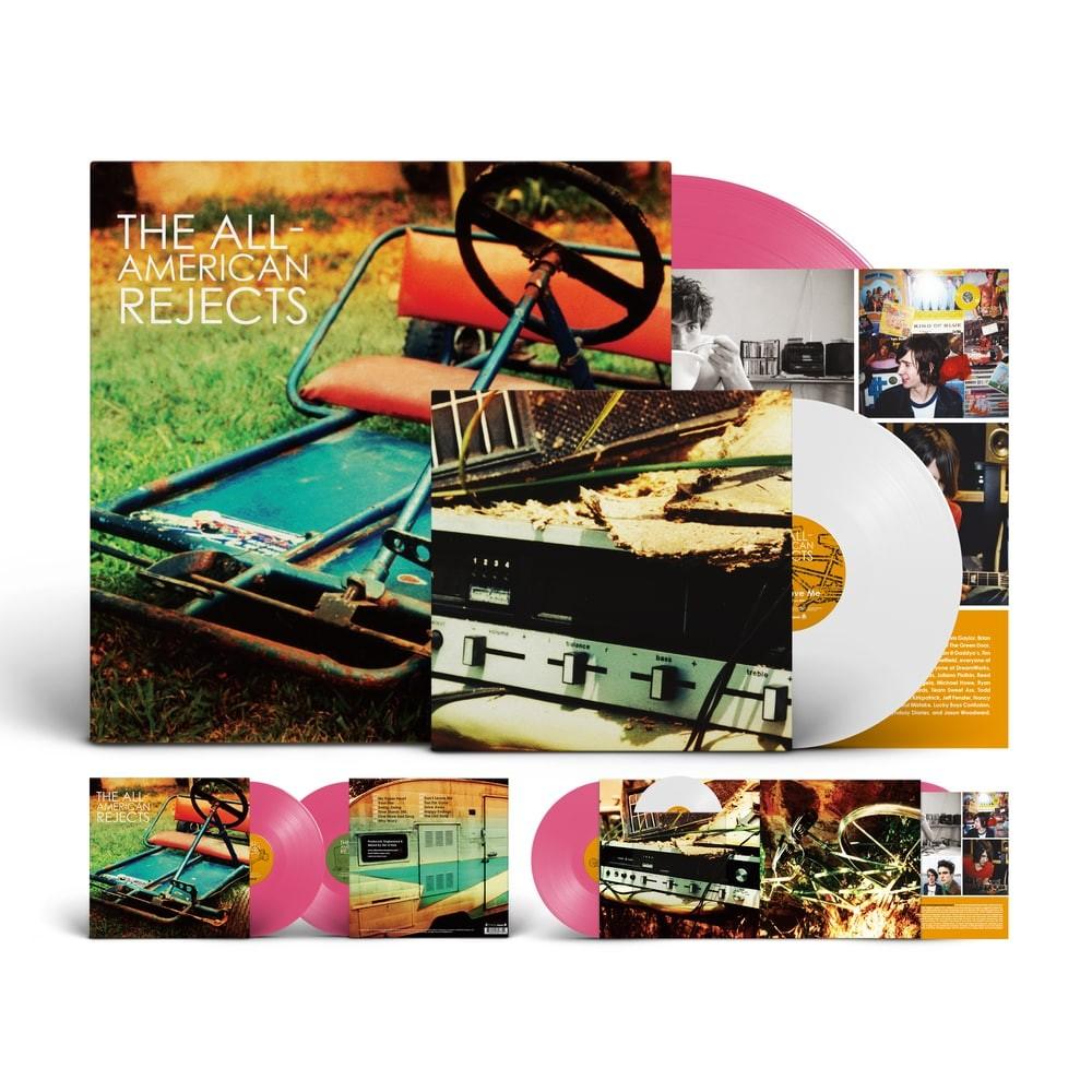 """The All-American Rejects - The All-American Rejects (Pink) LP + 7"""""""