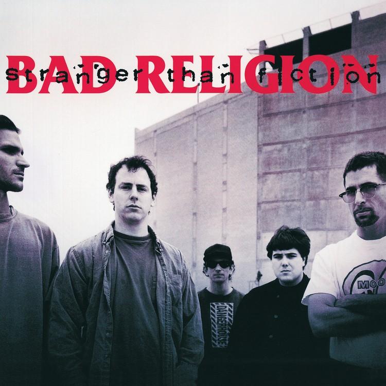 Bad Religion - Stranger Than Fiction (Remastered) (Grey) Vinyl LP