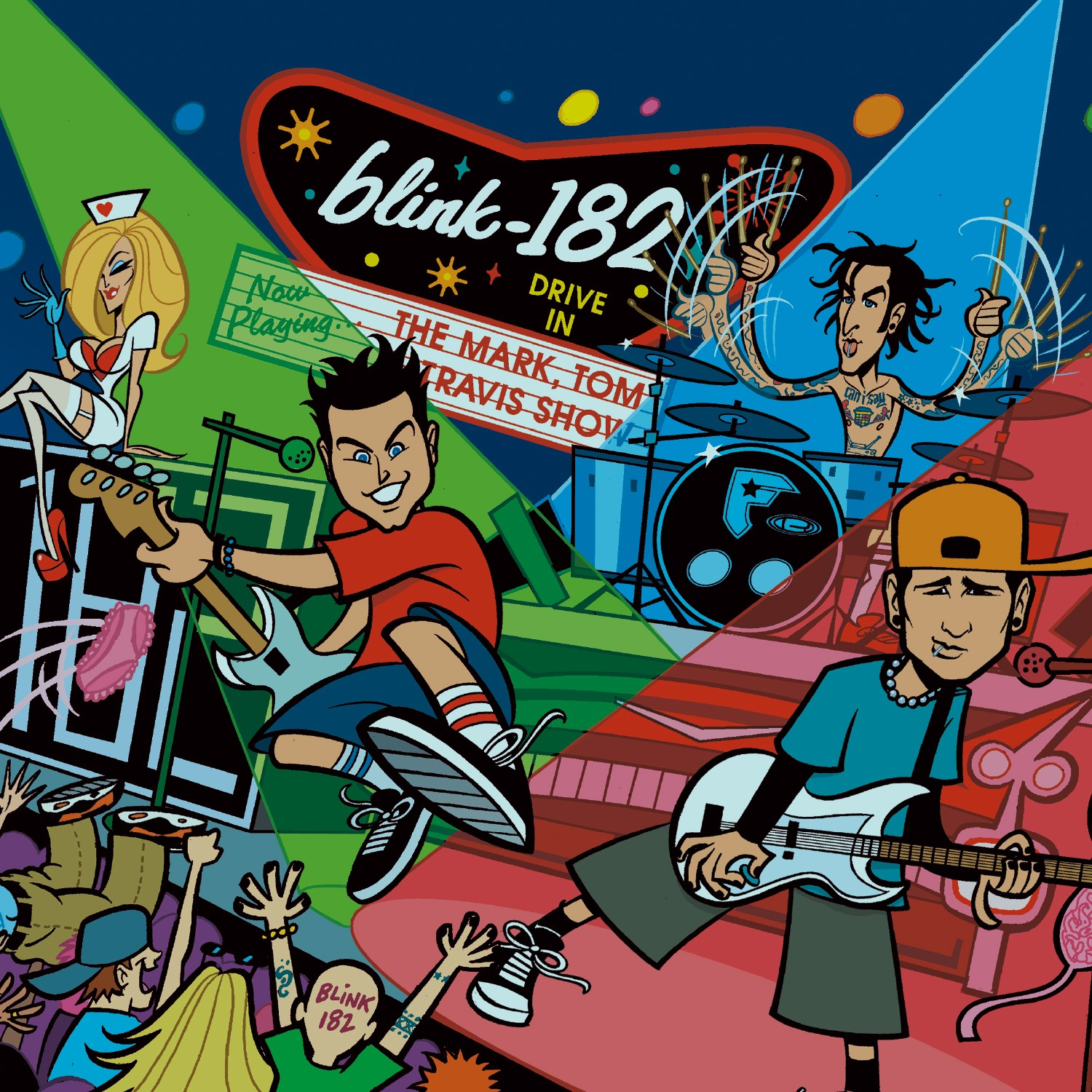 Blink 182 - The Mark Tom and Travis Show Vinyl