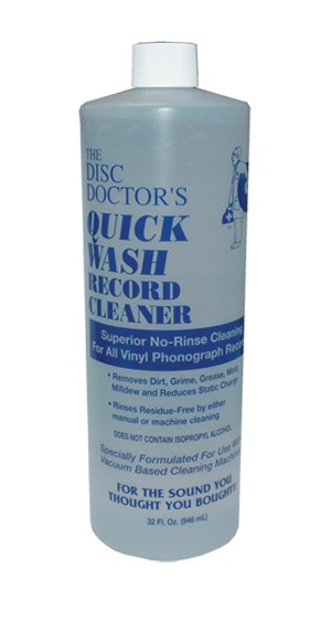 Disc Doctor - Quick Wash No-Rinse Vinyl Cleaning Solution (32 oz)
