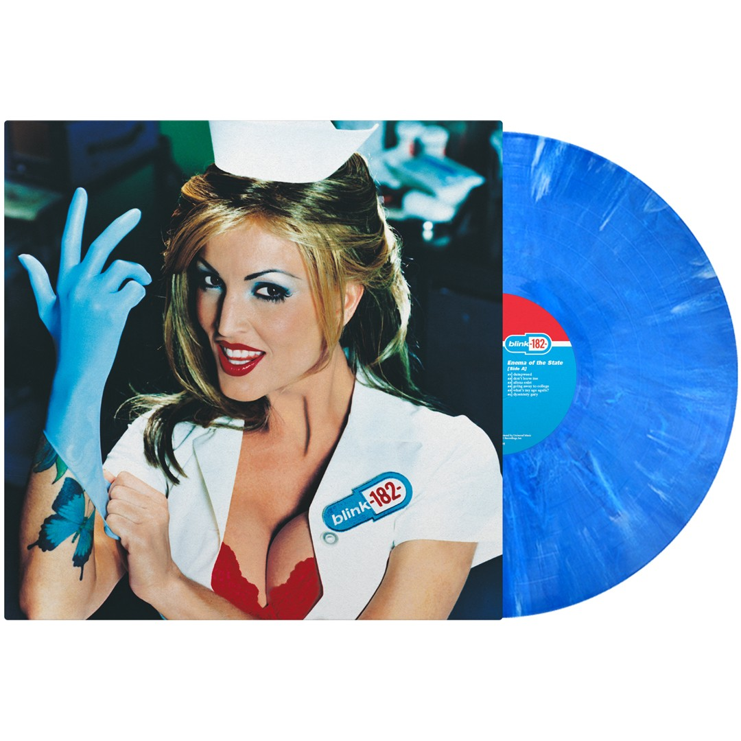 Blink 182 - Enema of the State (Blue) LP