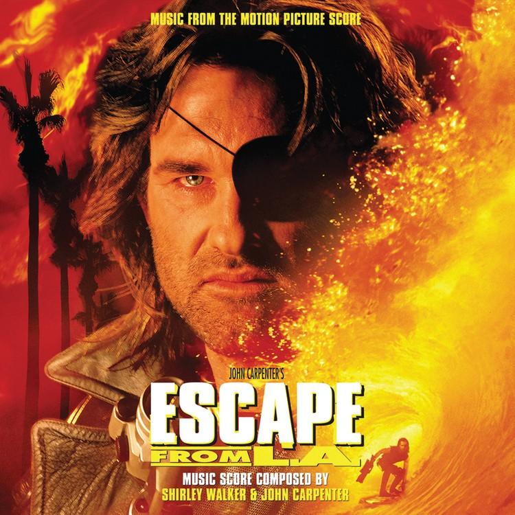 Shirley Walker & John Carpenter - Escape From L.A. 2XLP