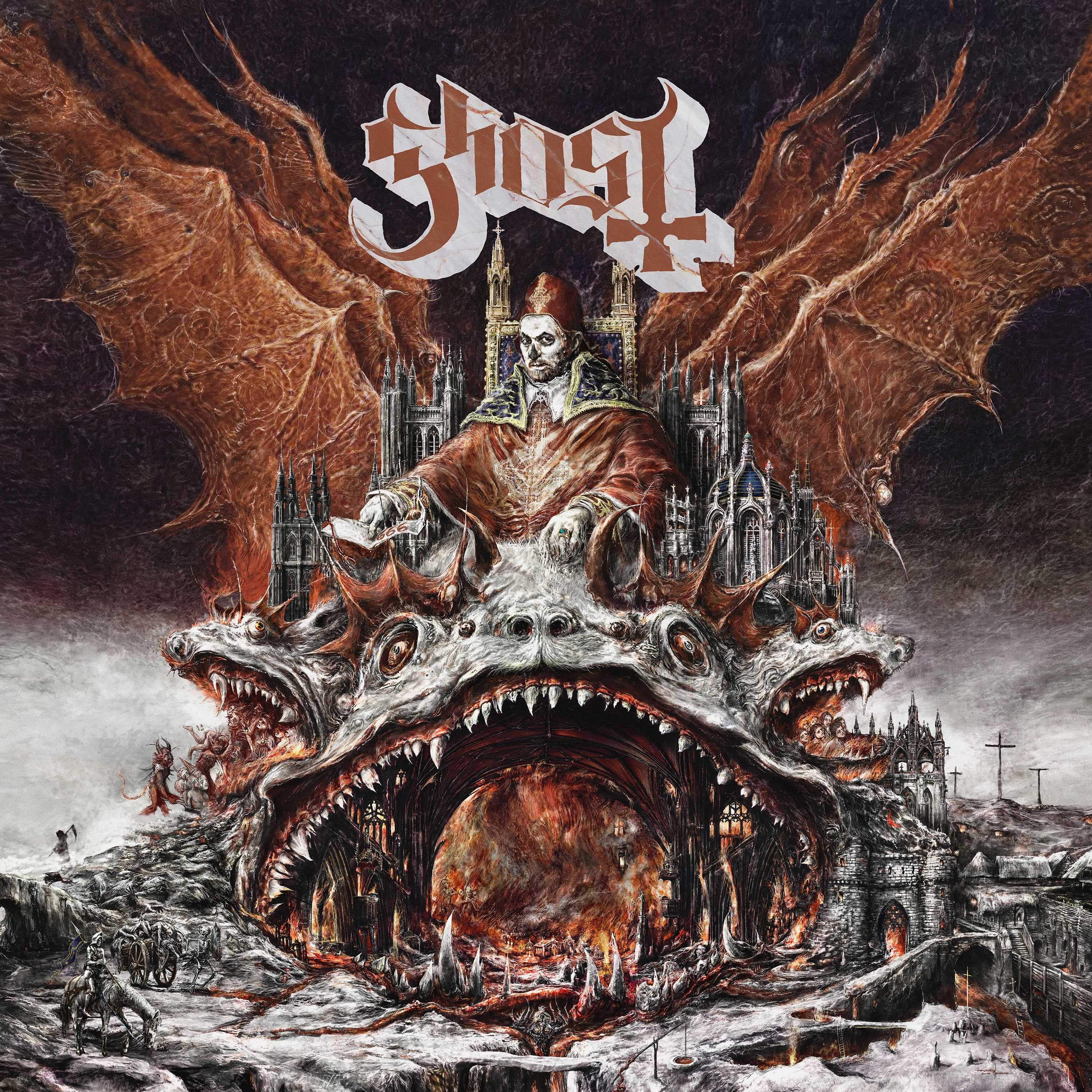 "Ghost - Prequelle (Deluxe Edition) LP + 7"" Vinyl"