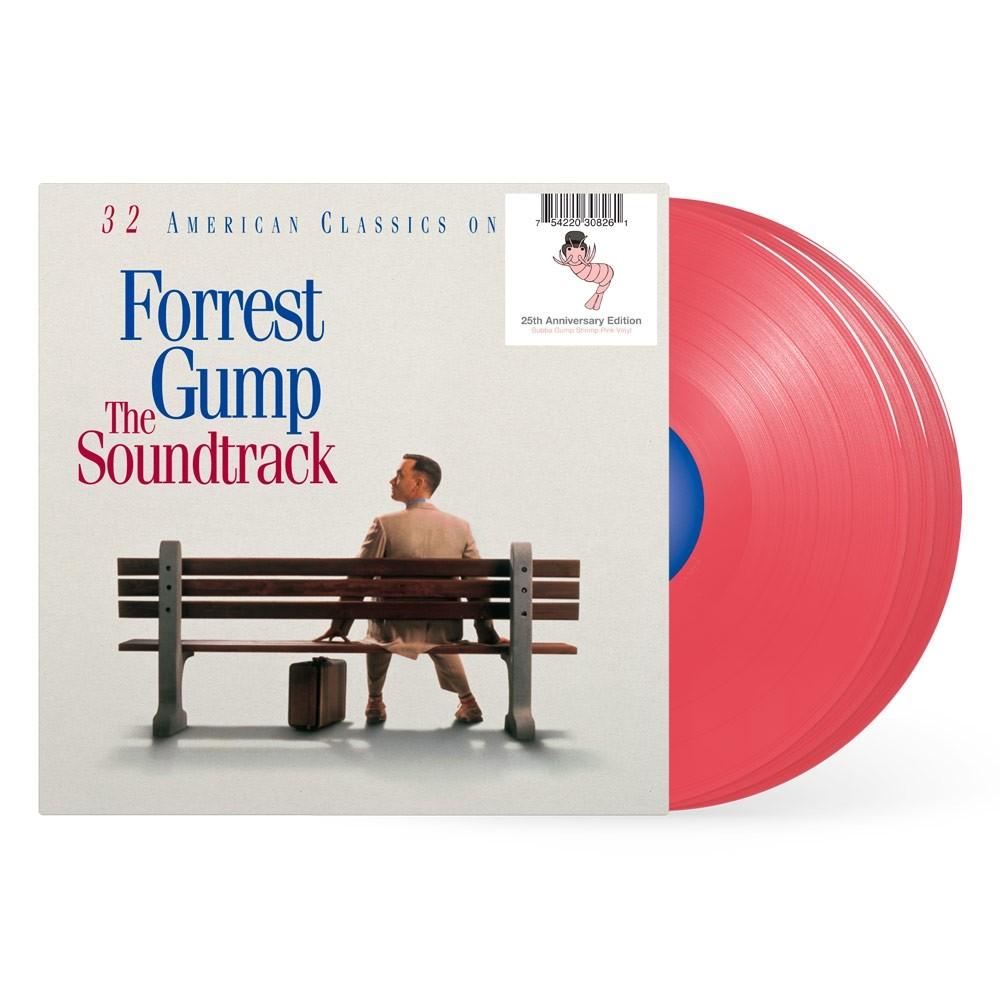Soundtrack - Forrest Gump (Pink) 3XLP Vinyl