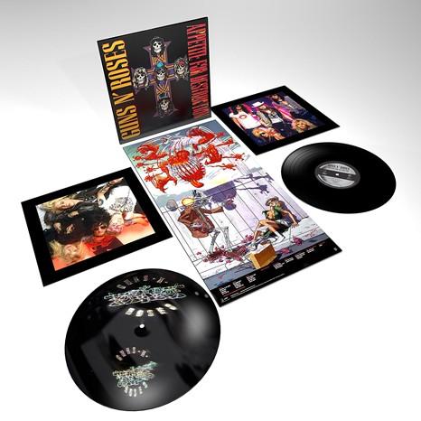 Guns N Roses - Appetite For Destruction 2XLP