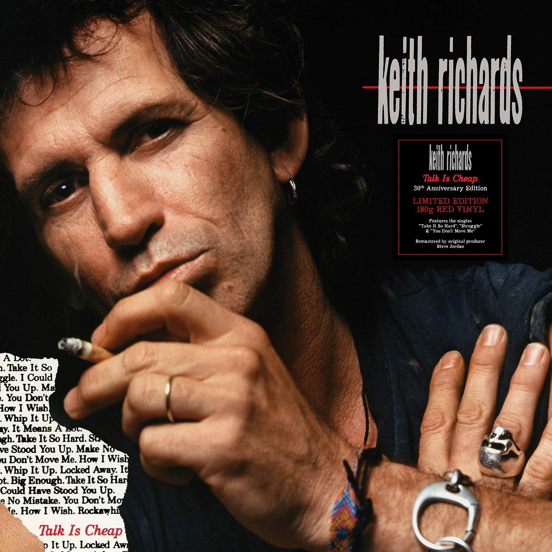 Keith Richards - Talk Is Cheap (Red) Vinyl LP