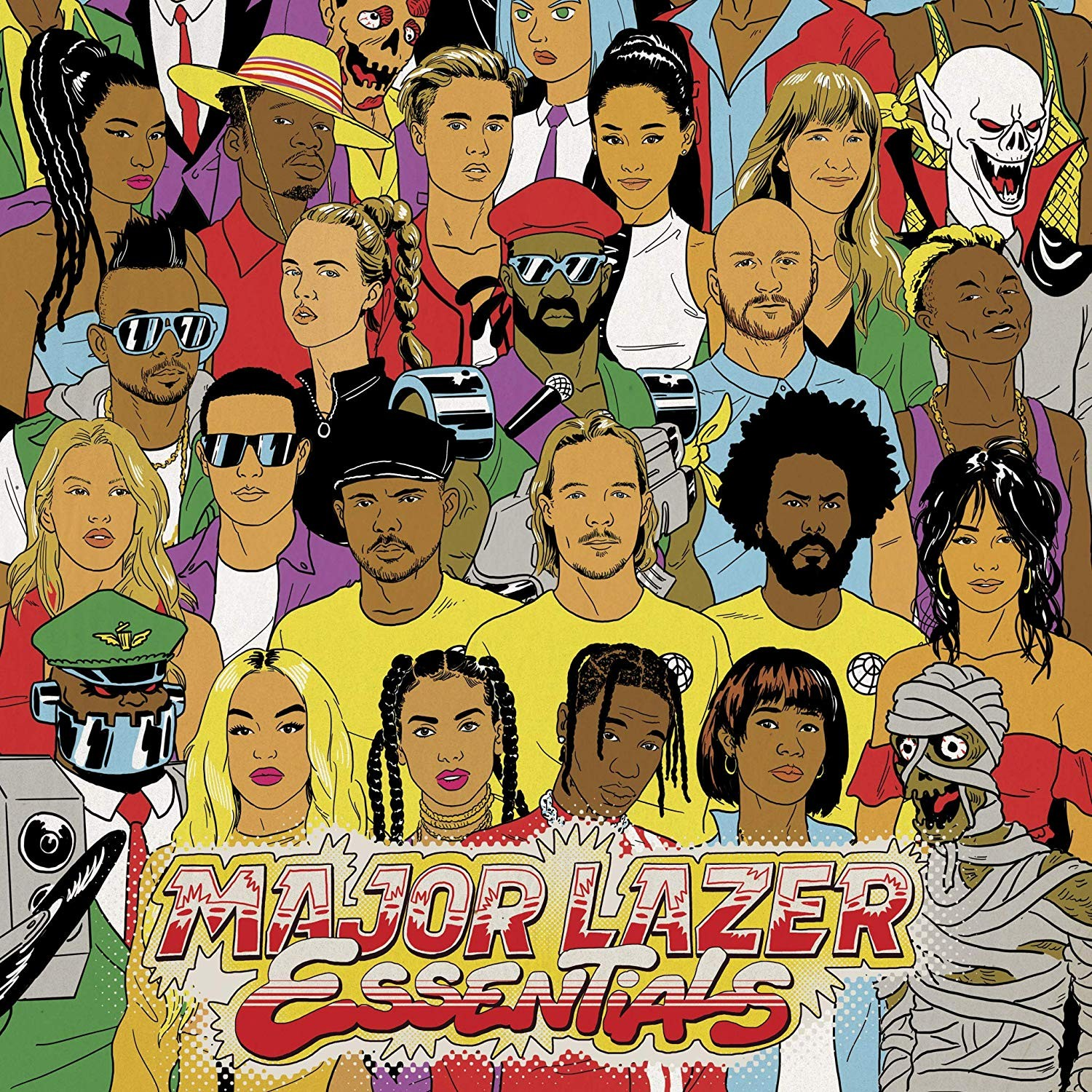 Major Lazer - Essentials 3XLP Vinyl