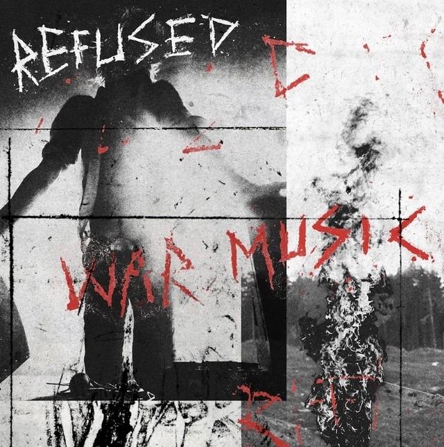 Refused - War Music (Red/Black Starburst) Vinyl LP