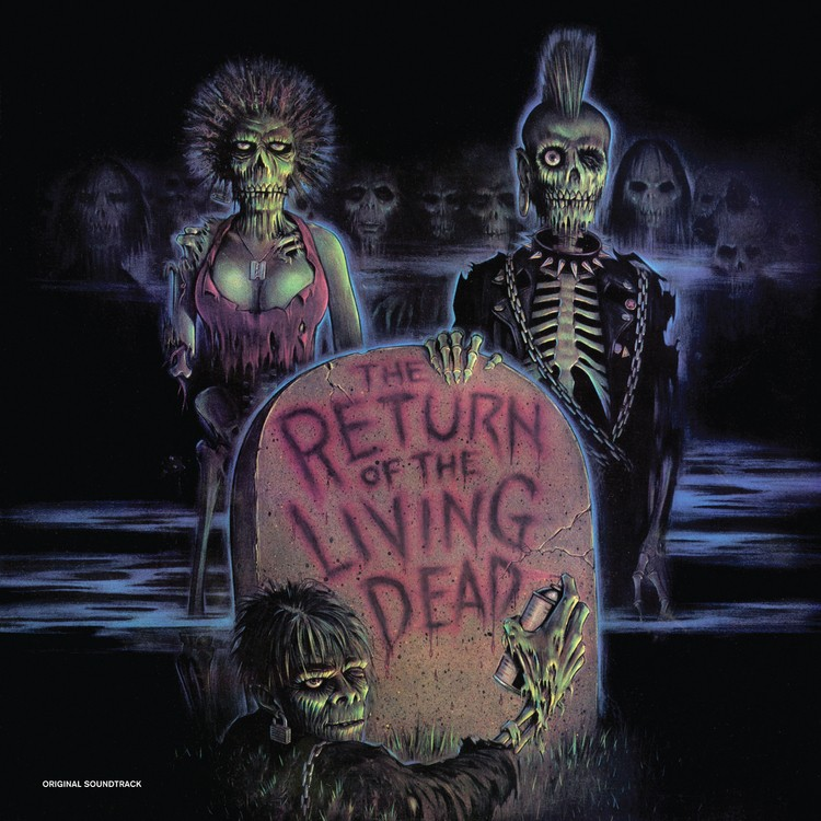 Various Artists - The Return of the Living Dead: Original Soundtrack (Bone White / Green Zombie Blood) Vinyl LP