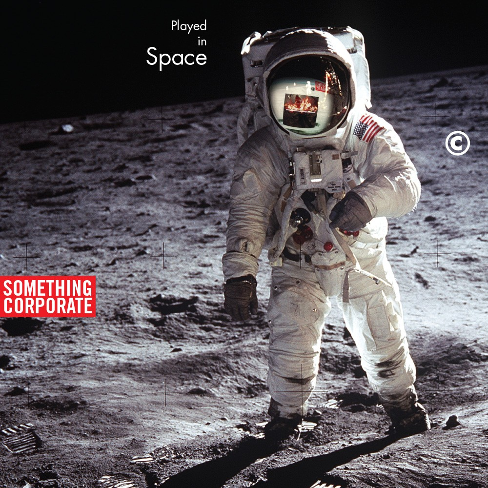 Something Corporate - Played in Space: The Best of Something Corporate 2XLP