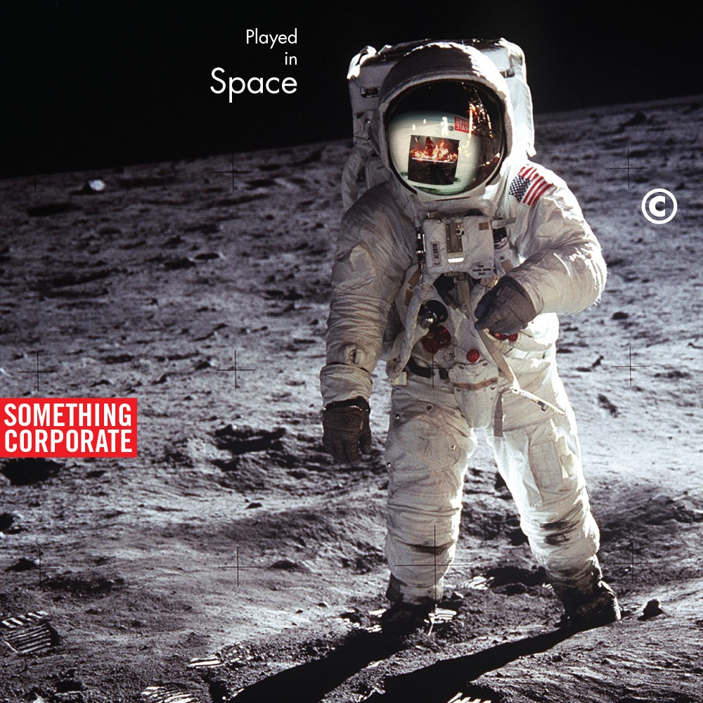 Something Corporate - Played in Space: The Best of Something Corporate 2XLP (WHITE)