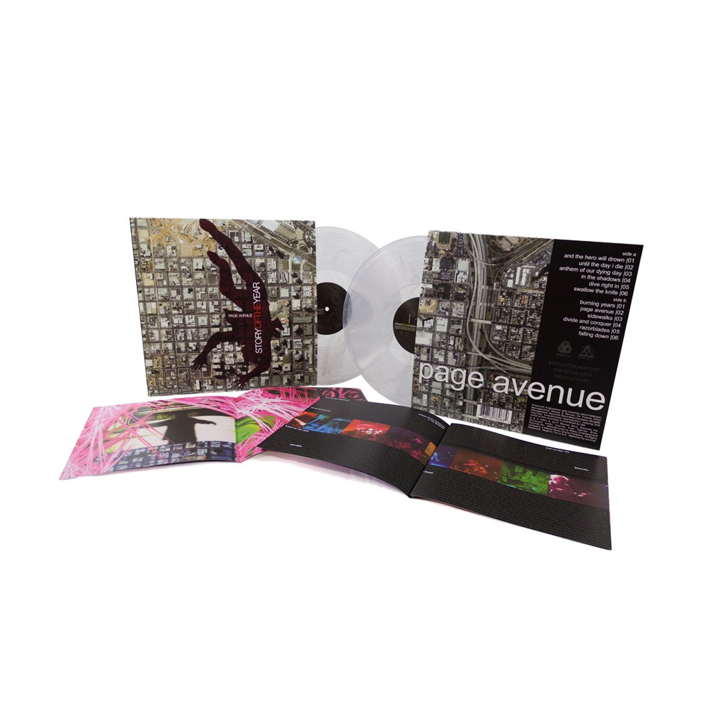 Story of the Year - Page Avenue White Vinyl LP