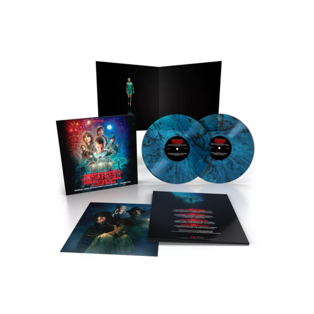 Kyle Dixon & Michael Stein - Stranger Things Season 1 Vol 2 (Upside Down Blue) 2XLP