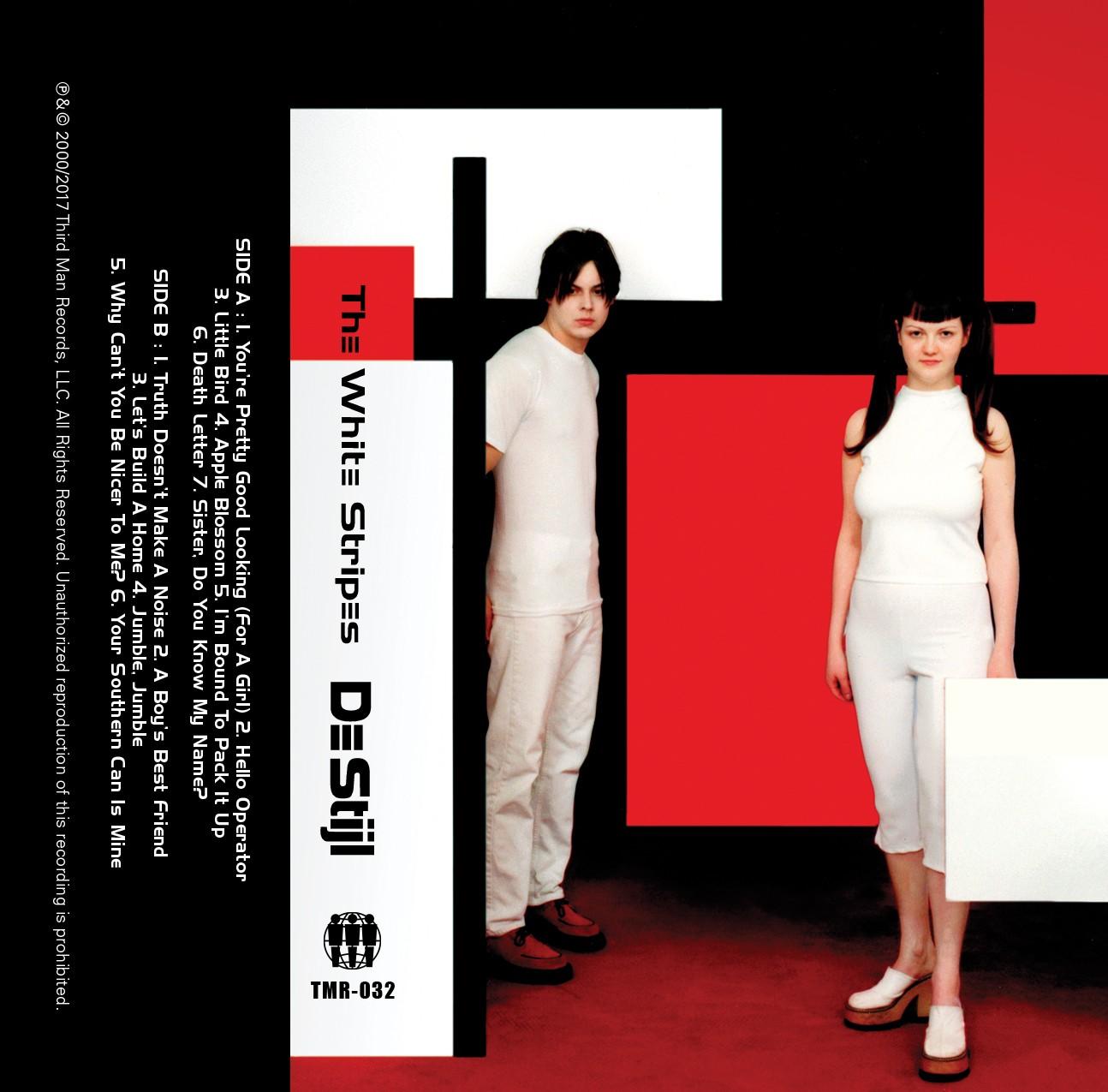 The White Stripes - De Stijl Cassette