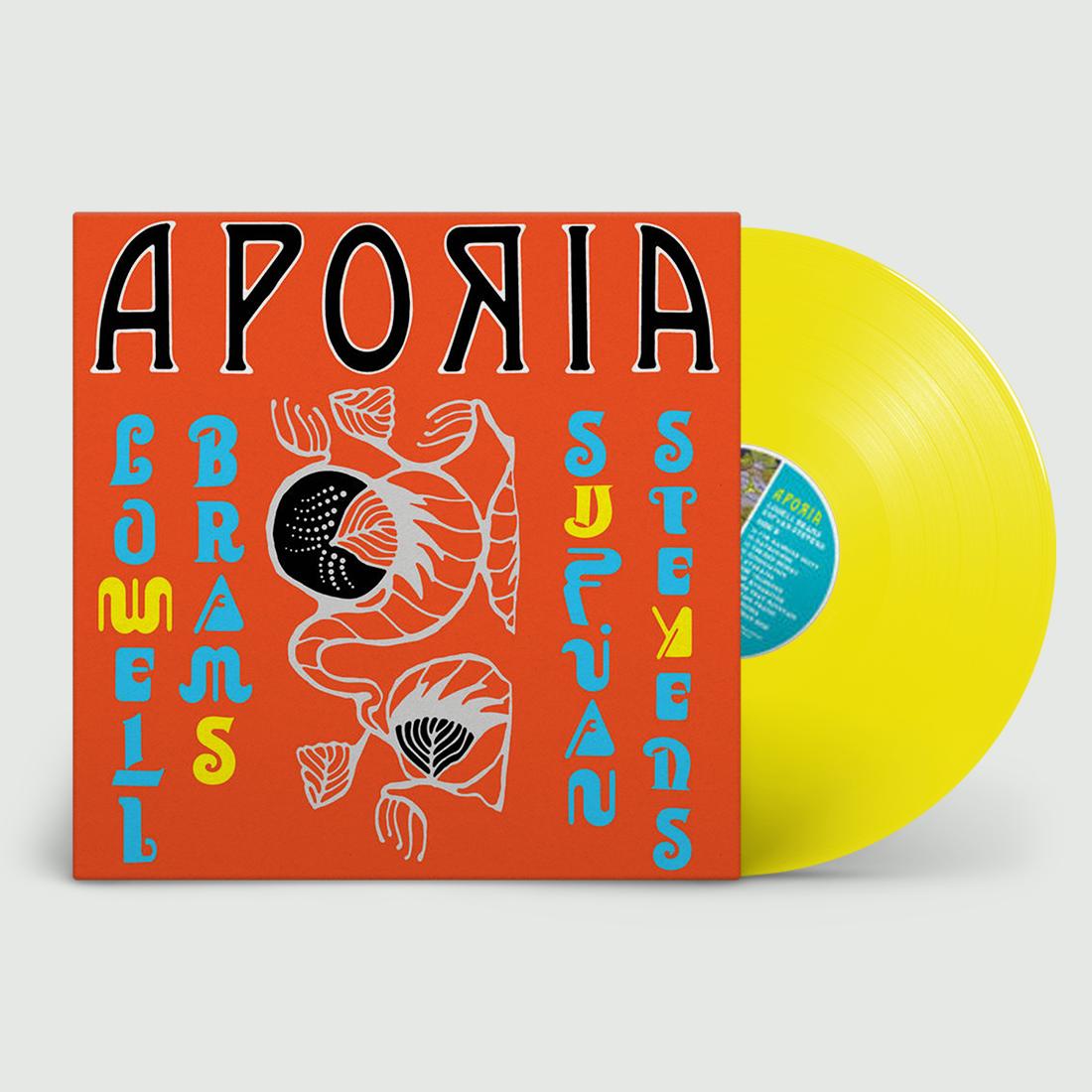 Sufjan Stevens - Aporia (Yellow) Vinyl LP