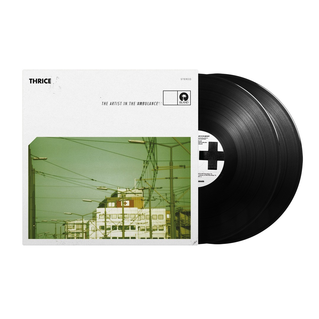Thrice - The Artist In The Ambulance (Deluxe) 2XLP Vinyl