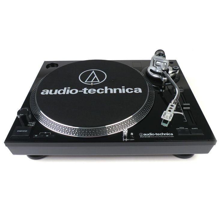 Audio Technica AT-LP120Bk-USB USB Direct Drive Black