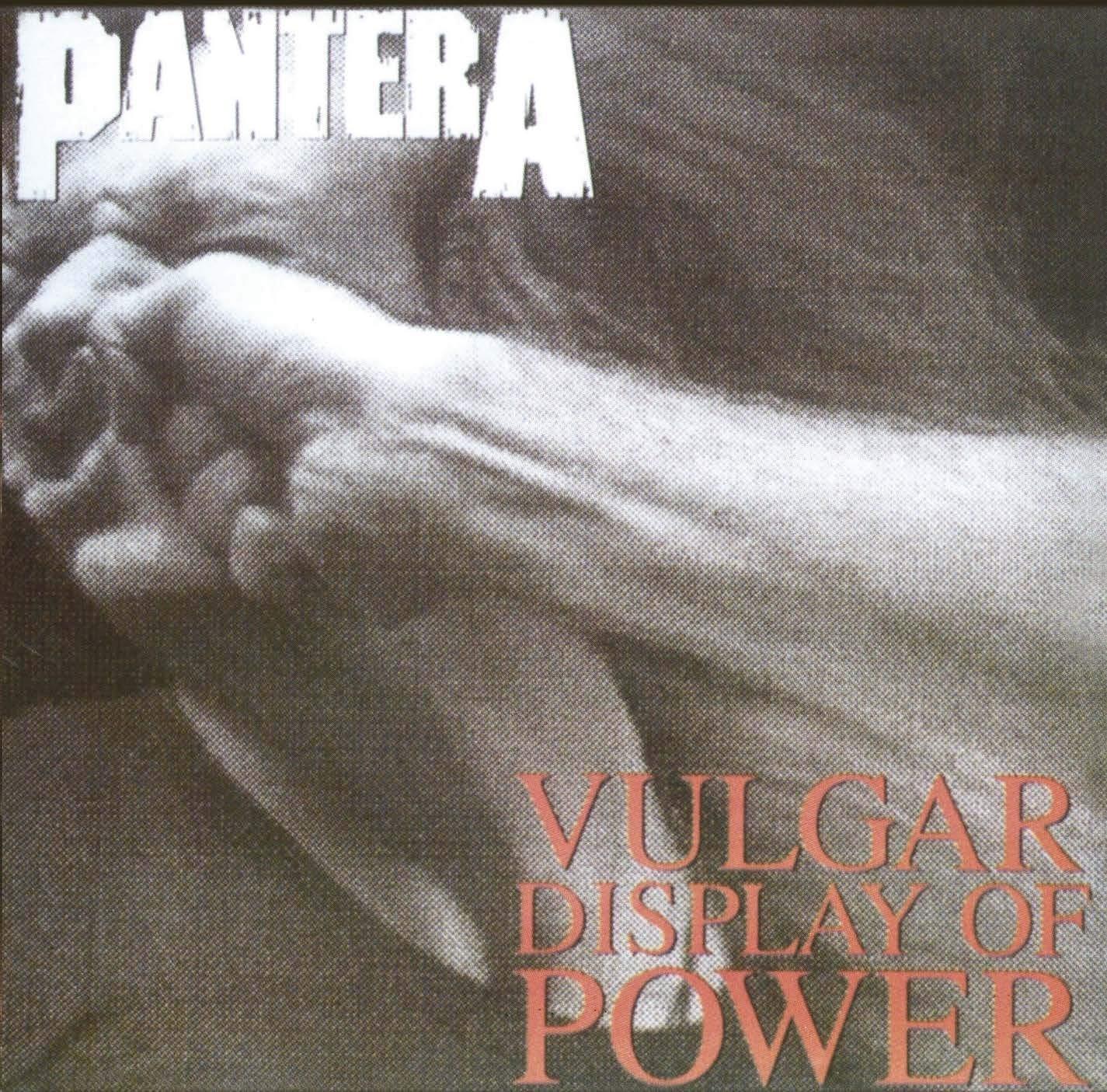Pantera - Vulgar Display Of Power (Grey/Black) LP