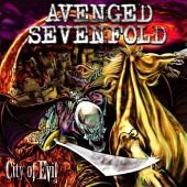 Avenged Sevenfold - City of Evil (Transparent Red Vinyl) LP