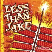 Less Than Jake - Anthem (Red/Yellow) LP