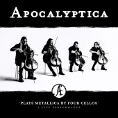Apocalyptica - Plays Metallica By Four Cellos - Live Performance 2XLP vinyl