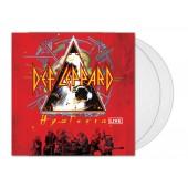 Def Leppard - Hysteria Live (Clear) 2XLP Vinyl