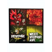 Insane Clown Posse - 3 Inch Blind Box Set of Four Records