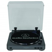 Audio Technica At-Lp60Bk-Usb Usb Turntable - Black