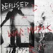 Refused - War Music (Red/Black Starburst) Vinyl LP