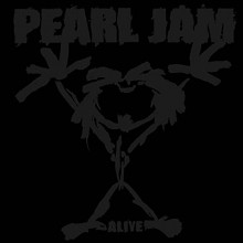"""RSD 2021 Pearl Jam - Alive 12"""" Etched Vinyl"""