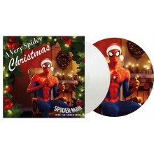 """Various Artists - A Very Spidey Christmas (Picture Disc/ White) 10"""" Vinyl"""