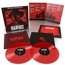Various Artists - The Music of Red Dead Redemption 2 (Red) 2XLP Vinyl
