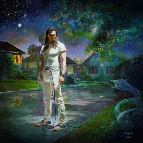 Andrew W.K. - You're Not Alone 2XLP (Blue/Green) Vinyl