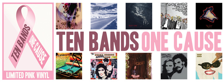Ten Bands One Cause Vinyl